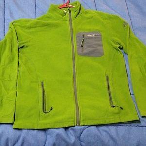 Eddie Bauer light fleece jacket